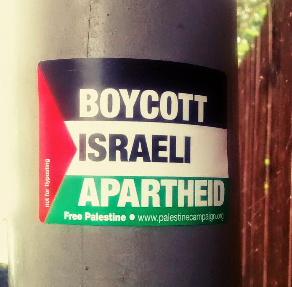Arguments for boycotting Israel