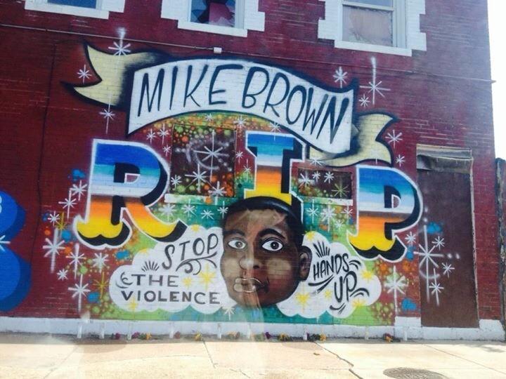 Mike Brown RIP Mural