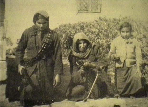 Palestinian peasant women guerillas
