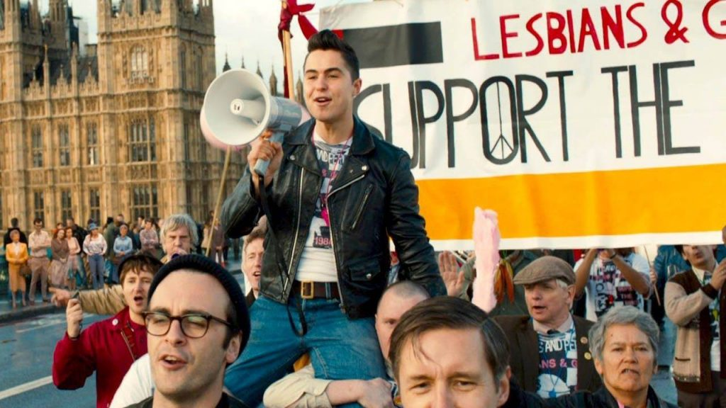 LGSM march across Westminster Bridge