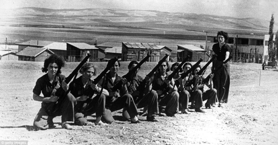 Women training in the Haganah