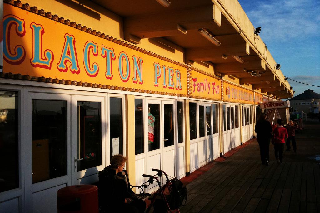Clapton pier