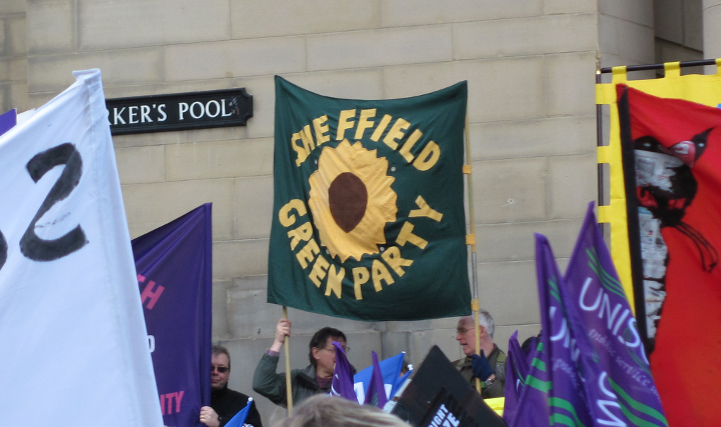 Sheffield Greens banner