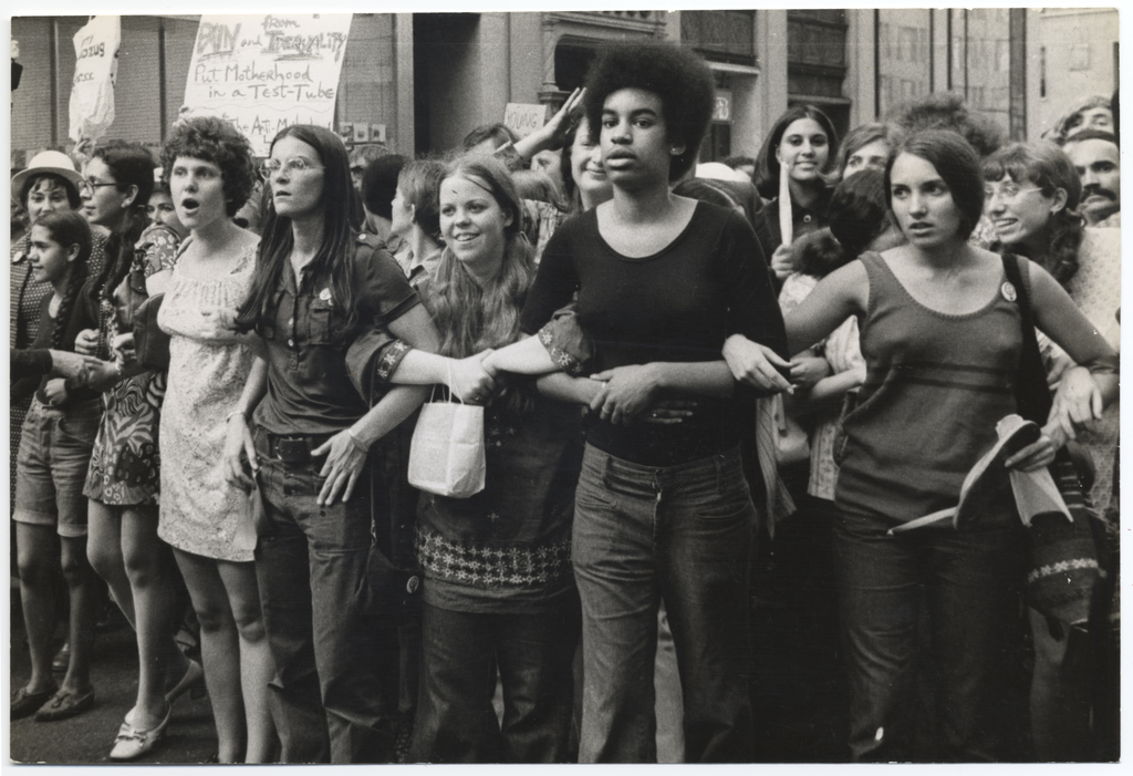 Women protest in the 1960s