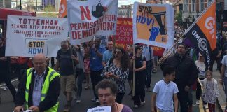 March against the HDV