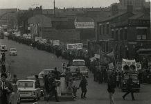Stockport trade union history