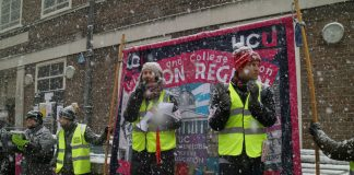UCU pensions dispute strike