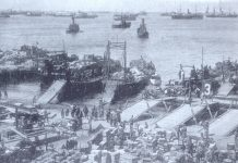 The landing at Al Huceima, 8 September 1925