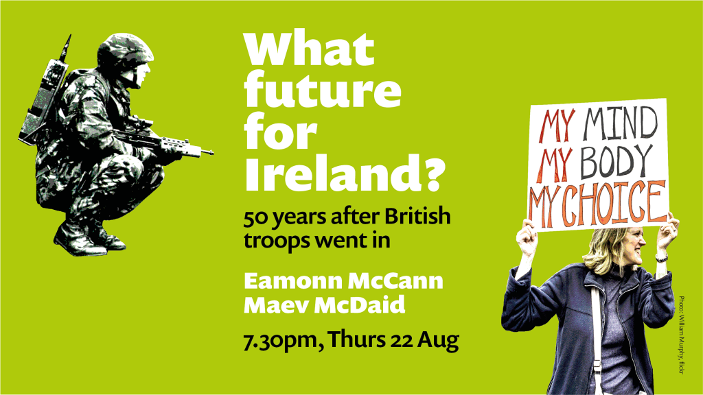 Image advertising What future for Ireland meeting