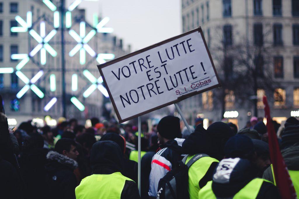 Gilet Jaunes protesters