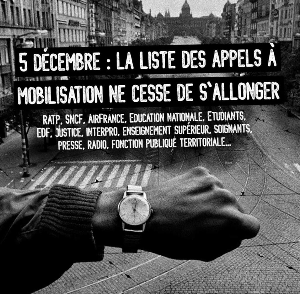 5 December strike