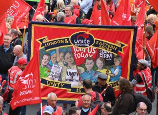 TUC march