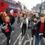 Anti-Boris demo in Uxbridge