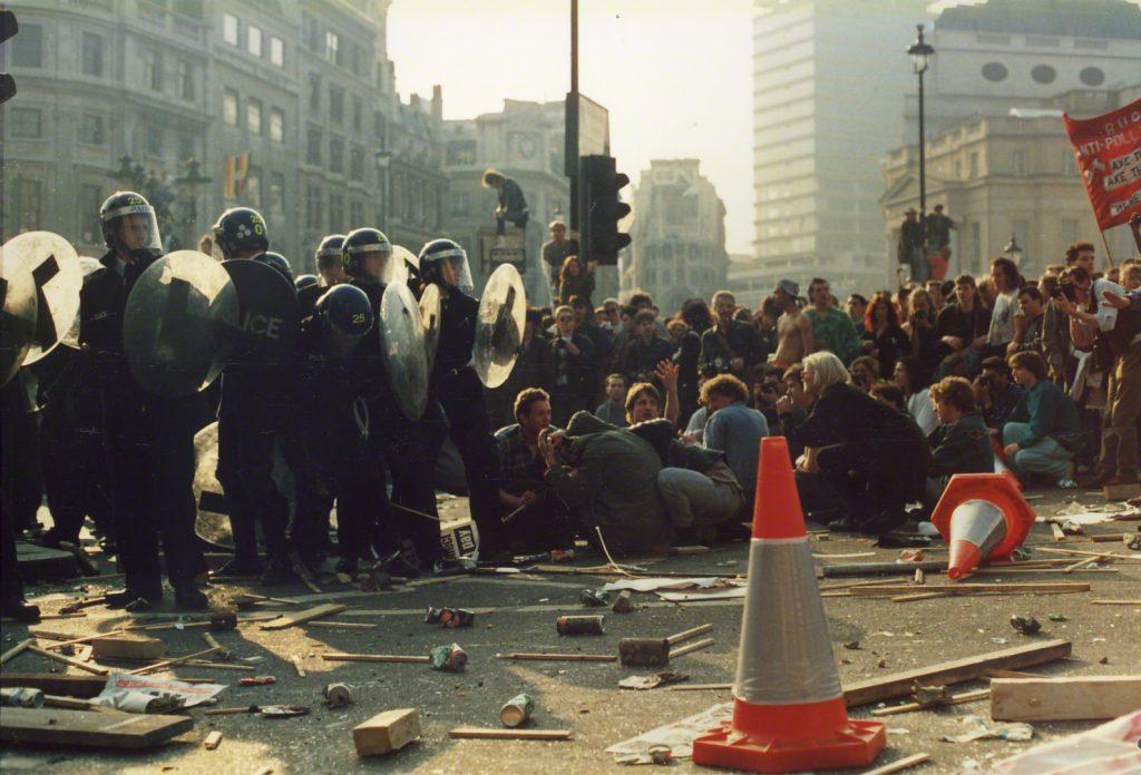 Poll Tax Riot 31 March 1990
