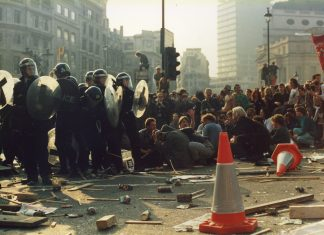 Poll Tax Riot 31 March 1990