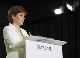Nicola Sturgeon Pres Release. Stay Safe.
