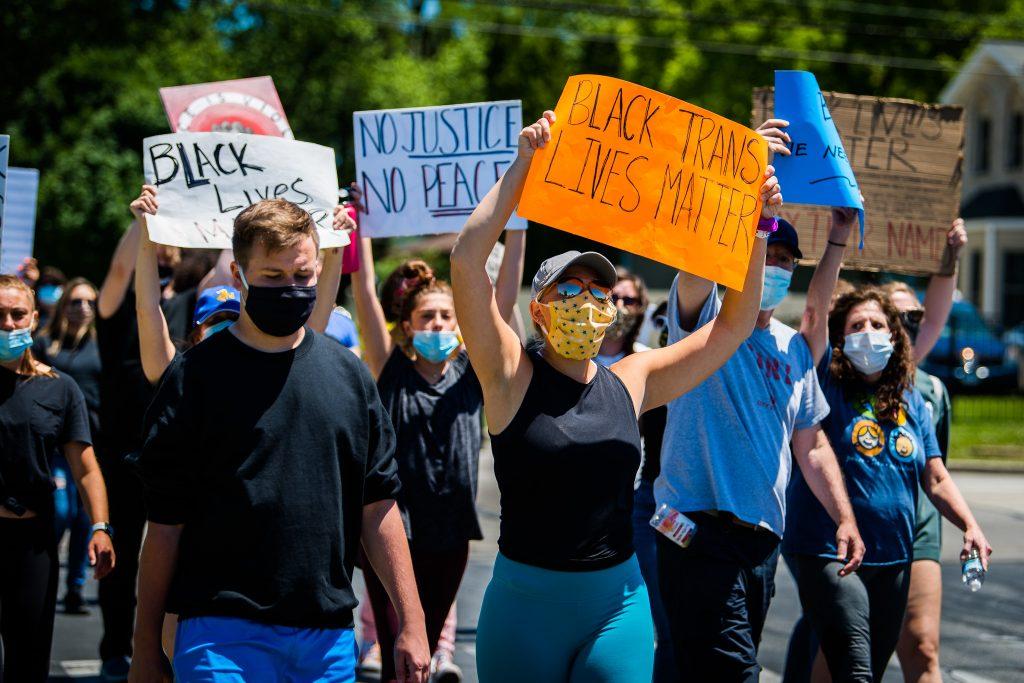 Black Trans Lives Matter demonstration photo