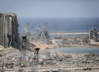 Beirut port destroyed