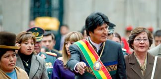 Evo Morales in 2008. Keywords: Bolivia elections election coup coup d'etat US right wing