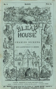 Bleak House cover Charles Dickens