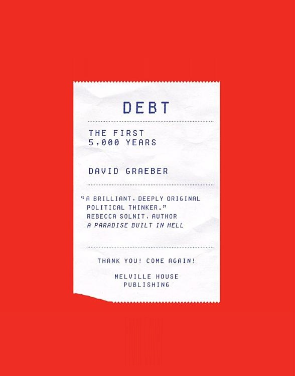 Debt David Graeber book cover