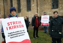 Norway priests church strike