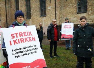 Norway priests church strike