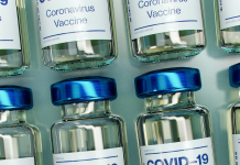 Covid vaccine bottles. Photo: Daniel Schludi / Unsplash