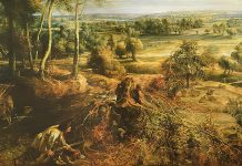 Rubens: View of Het Steen in the early morning. Keywords: art Marxism Marx what is art