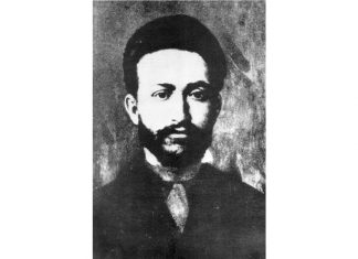 A portrait of Paris Communard Leo Frankel