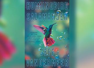 cover of the novel 'Hummingbird Salamander' by Jeff Vandermeer